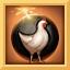 Pupazzo batte gallina